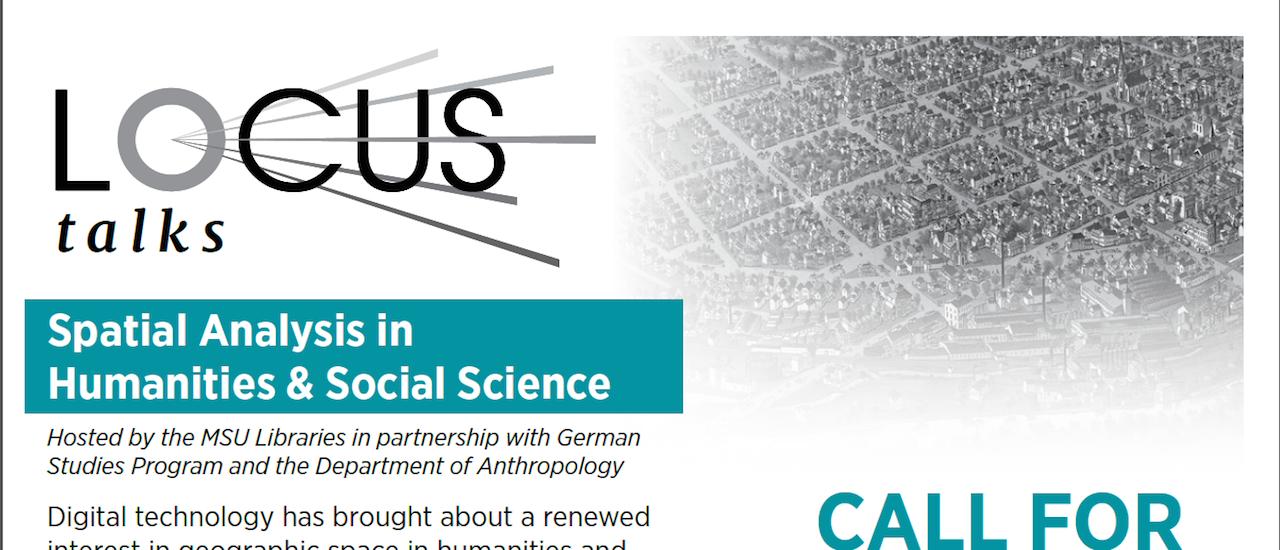 LOCUS: Spatial Humanities & Social Science, CFP Due 2/3
